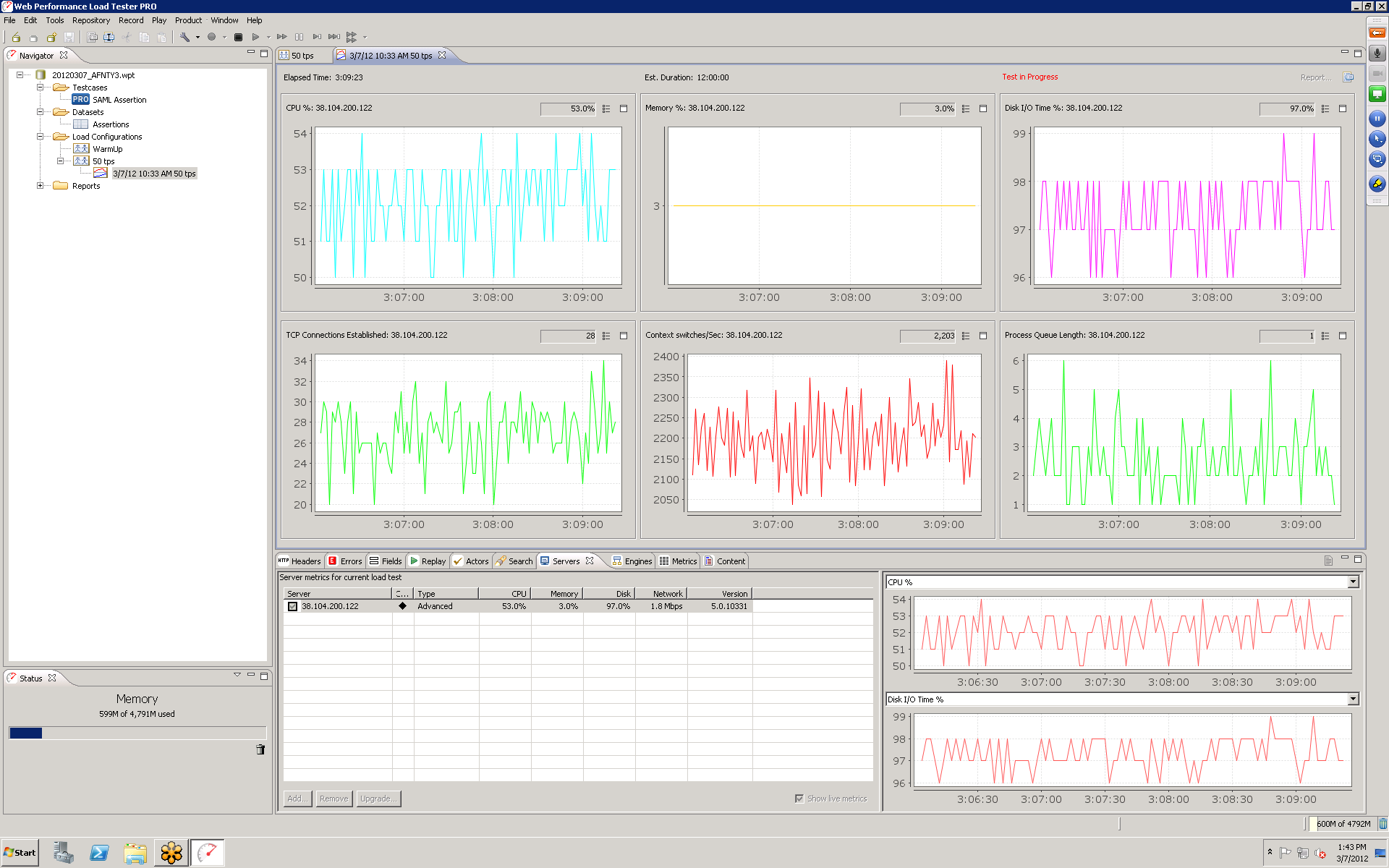 Server Monitoring GUI