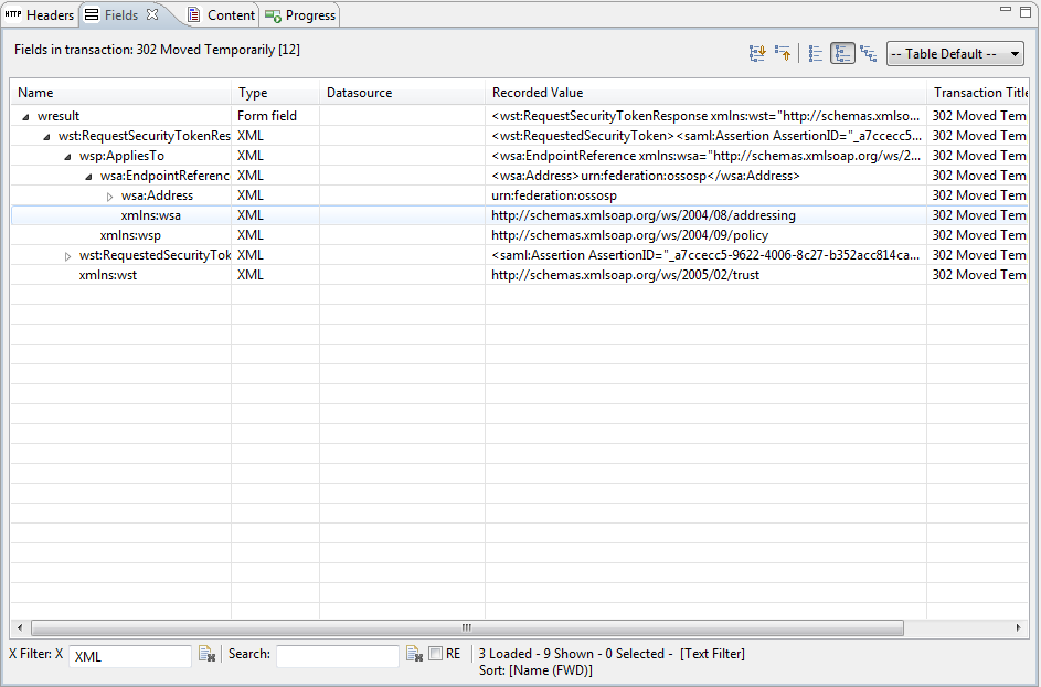 XML automation support in Load Tester PRO 5 - Web Performance